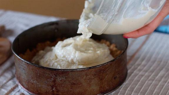 печенье в форме залить кремом