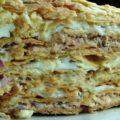 пирог наполеон