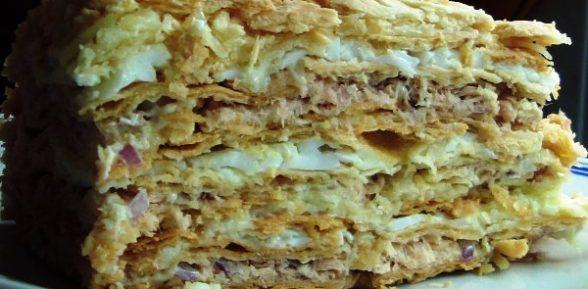 Рецепт пирога «Наполеон»