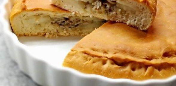 Рецепт пирога с мойвой
