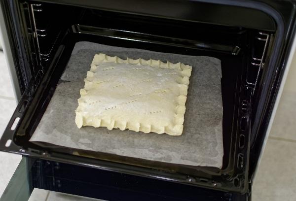 сформированный пирог