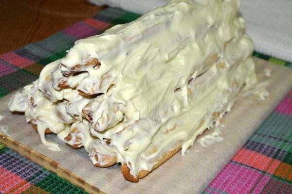 собрать торт из трубочек