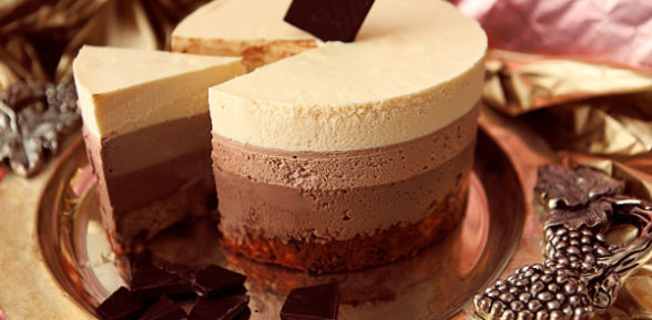 Рецепт торта «Три шоколада»