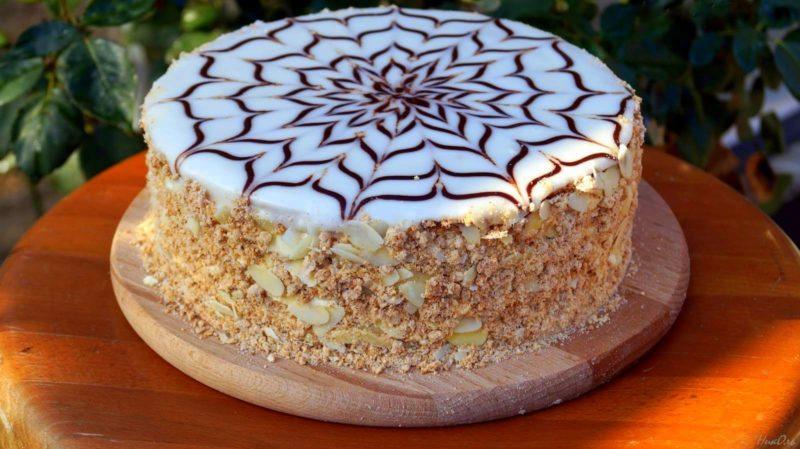 готовый торт эстерхази