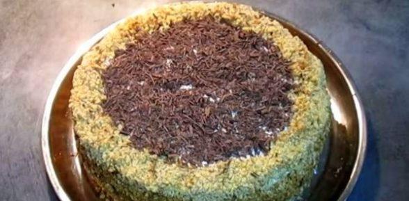 Рецепт торта «Кутузов»