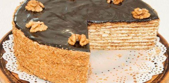 Торт медовый на водяной бане