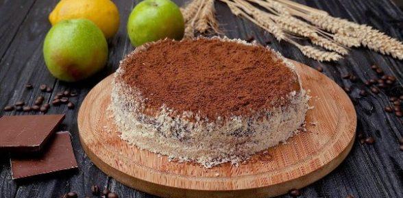 Рецепт торта «Моцарт»