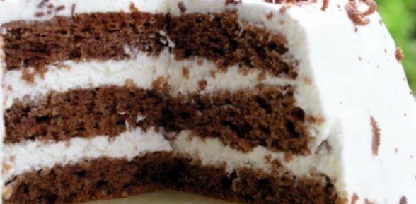 Рецепт торта «Негр в пене»