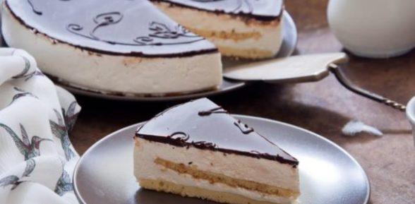 Торт «Птичье молоко» со сгущенкой