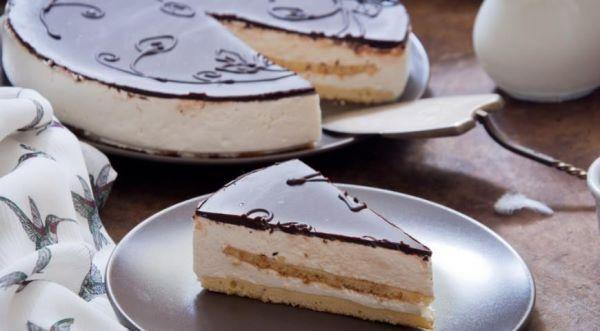 торт птичье молоко со сгущенкой