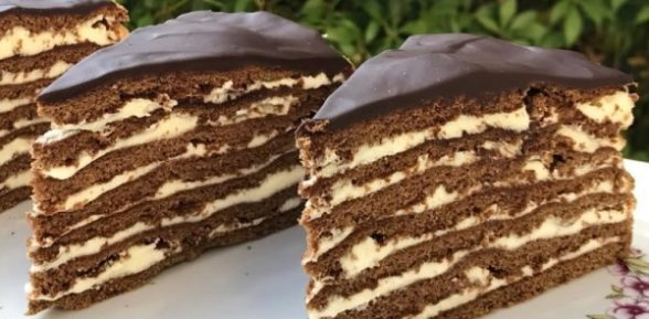 Рецепт торта «Спартак»