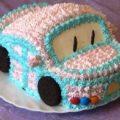 торт в виде машины
