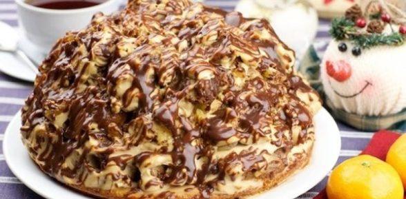 Торт «Кудрявый пинчер»