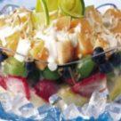 Салат фруктовый для детей