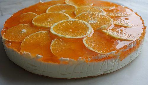 Творожная запеканка с апельсинами