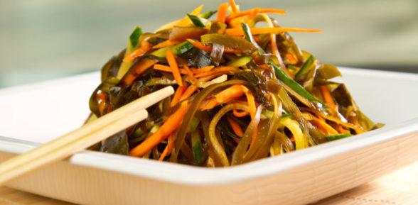 Салат из морской капусты сухой