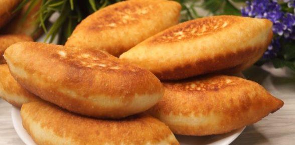 Пирожки на сухих дрожжах жареные