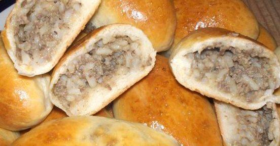 Пирожки с печенью и рисом