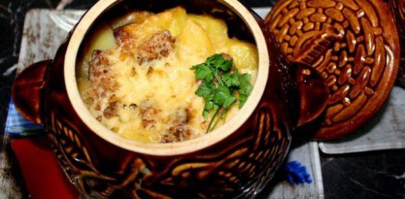 Картошка в горшочках в микроволновке