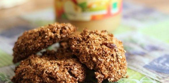 Печенье из овсяных отрубей