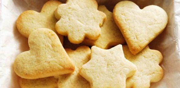 Печенье домашнее в формочках