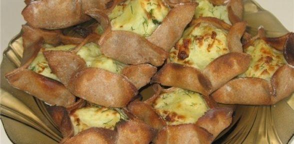Пирожки из ржаной муки