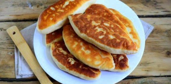 Пирожки на картофельном отваре