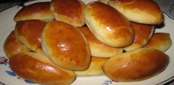 Пирожки в духовке без дрожжей
