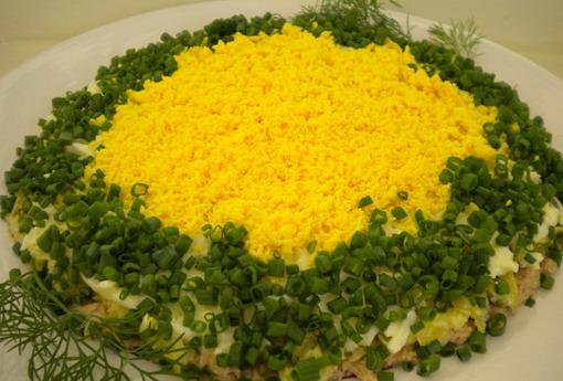 Салат из печени ермак