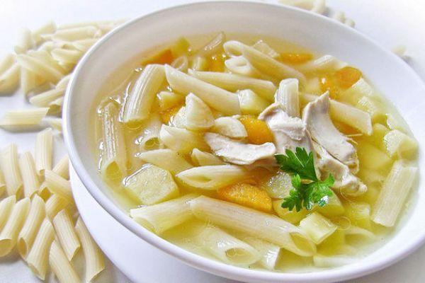 Суп из макарон с картинками