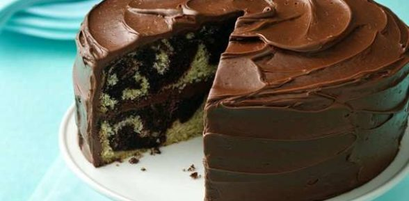 Торт «Зебра» на сметане