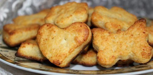 Печенье из творога для детей