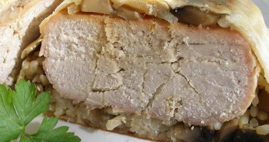 Свинина в тесте в духовке