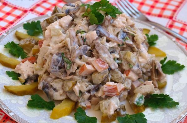 Фото салат из мяса свинины