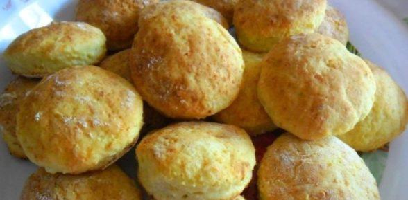 Печенье из творога без масла