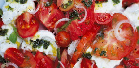 Салат с Капри