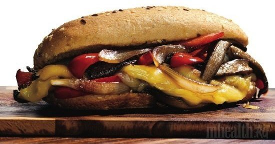 Вегетарианский сэндвич –«Субмарина»