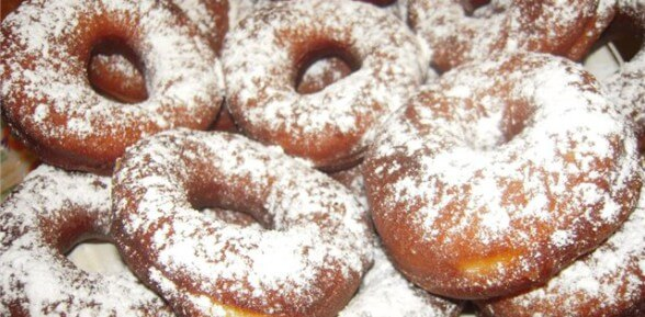 Как приготовить пончики со сгущенкой