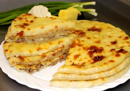 фото осетинских пирогов с мясом
