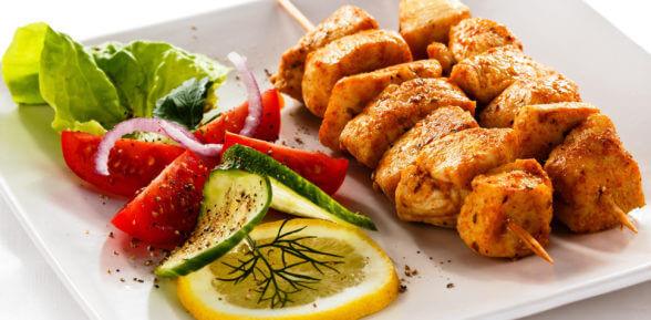 Рецепты приготовления шашлычков из курицы в духовке