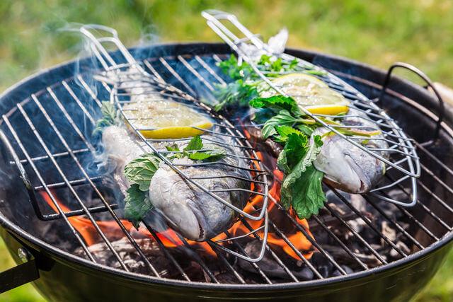 маринады для рыбы на углях