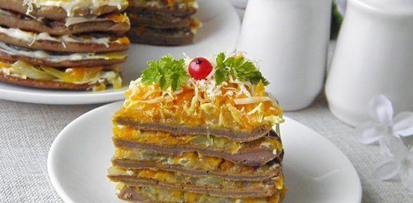 Вкусные советы по приготовлению печеночного торта