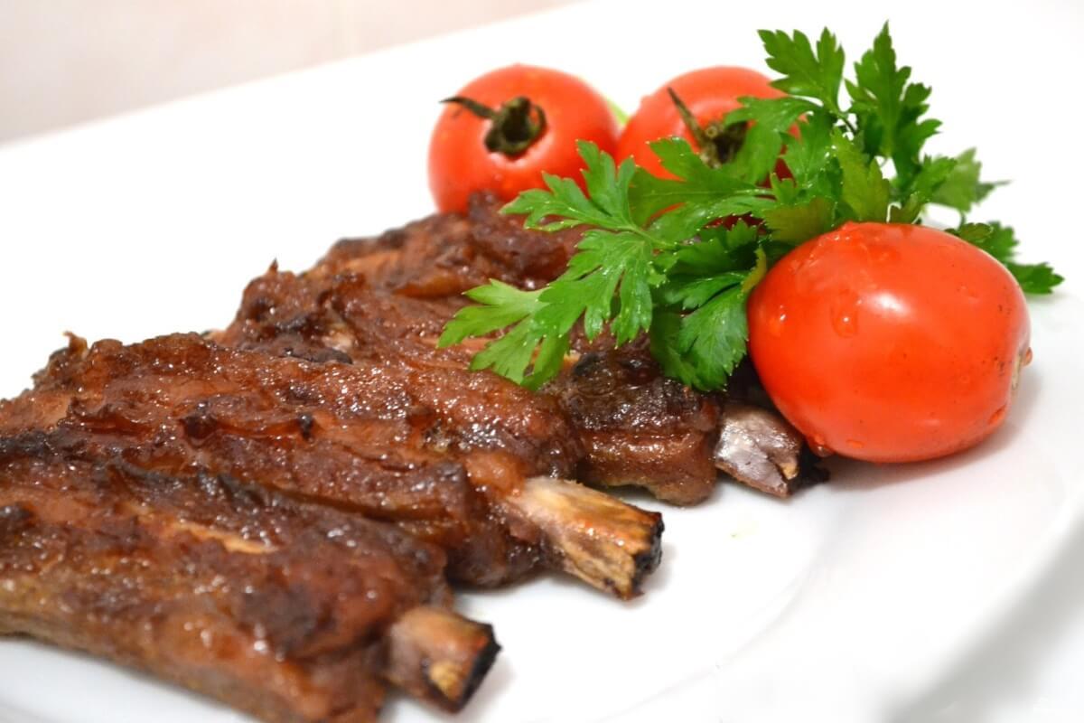 Винный маринад для свиных ребер - рецепт пошаговый с фото
