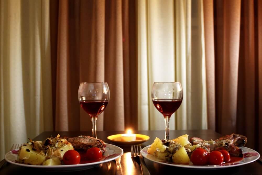 Картинка ужин для любимой