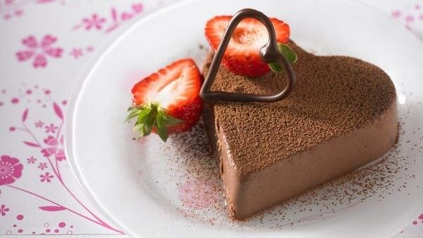десерт на романтический ужин