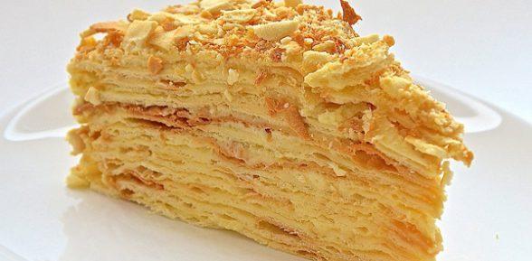 Торт «Наполеон» в домашних условиях