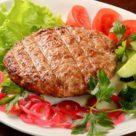Бифштекс из рубленной говядины