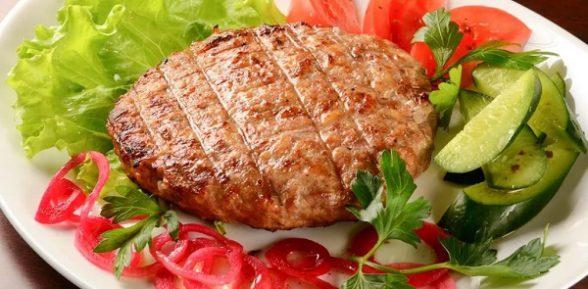 Рубленый бифштекс из говядины