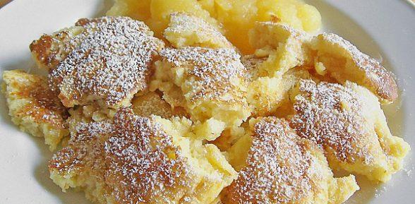 Кайзершмаррн – рецепт сладкого омлета