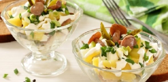 Простые и вкусные рецепты салатов с курицей и грибами